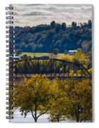 Clarksville Railroad Bridge Spiral Notebook