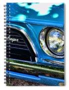 Classic 1974 Dodge Challenger Spiral Notebook