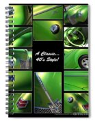 Classic 40s Style - Poster Spiral Notebook