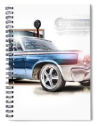 Classic '64 Dodge Oakland County Mi Spiral Notebook