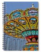 Classic Amusement Swing Spiral Notebook