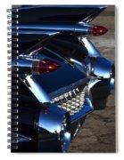 Classic Black Cadillac Spiral Notebook