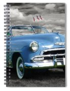Classic Blue Chevy Spiral Notebook