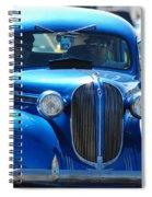 Classic Blue Spiral Notebook