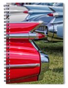 Classic Caddy Fin Party Spiral Notebook