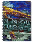 Classic Cali Burger 2.2 Spiral Notebook