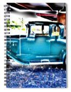 Classic Car 2 Spiral Notebook