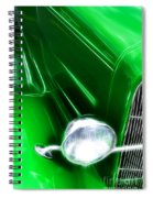 Classic Cars Beauty By Design 2 Spiral Notebook