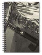 Classic Car Interior Spiral Notebook