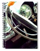 Classic Car Odometer Spiral Notebook