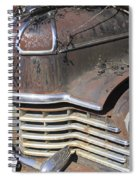 Classic Car With Rust Spiral Notebook