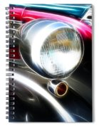 Classic Cars Beauty By Design 1 Spiral Notebook