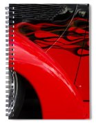 Classic Cars Beauty By Design 11 Spiral Notebook