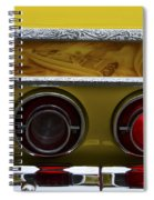 Classic Cars Beauty By Design 14 Spiral Notebook