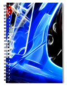 Classic Cars Beauty By Design 3 Spiral Notebook