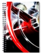 Classic Cars Beauty By Design 4 Spiral Notebook