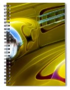 Classic Cars Beauty By Design 5 Spiral Notebook