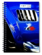 Classic Cars Beauty By Design 6 Spiral Notebook