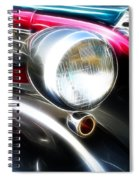 Classic Cars Beauty By Design 7 Spiral Notebook