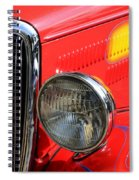 Classic Cars Beauty By Design 8 Spiral Notebook