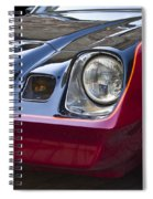 Classic Chevrolet Camaro Spiral Notebook