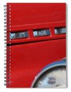 Classic Chevy Design Spiral Notebook