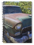 Classic Chevy With Rust Spiral Notebook