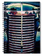 Classic Chrome Grill Spiral Notebook