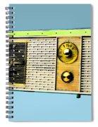 Classic Clock Radio Spiral Notebook