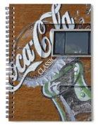 Classic Coca-cola Spiral Notebook