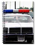 Classic Cop Car Spiral Notebook