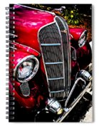 Classic Dodge Brothers Sedan Spiral Notebook