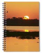 Classic Florida Sunrise Spiral Notebook