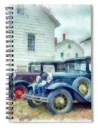 Classic Ford Model A Cars Spiral Notebook