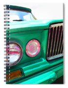 Classic Jeep J3000 4 Wheel Drive By Sharon Cummings Spiral Notebook