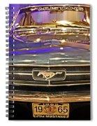 Classic Mustang Spiral Notebook