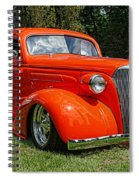 Classic Orange Spiral Notebook