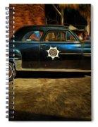 Classic Police Car Spiral Notebook