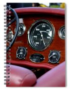Classic Race Boat Dash Spiral Notebook