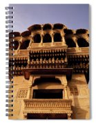 A Rajasthan Haveli Spiral Notebook
