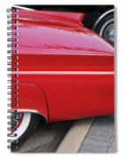 Classic Red And Black Spiral Notebook