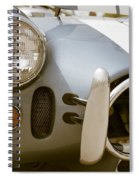 Classic Sports Car Spiral Notebook