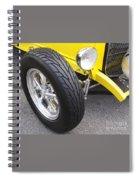 Classic Tire Tread Spiral Notebook