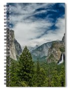Classic Tunnel View Spiral Notebook
