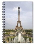Classic View Of Paris Spiral Notebook