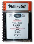 Classic Vintage Gilbarco Phillips 66 Gas Pump Dsc02751 Spiral Notebook