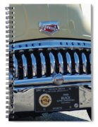 Classic Yellow 49' Buick Eight Spiral Notebook