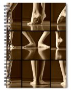 Classical Melody Spiral Notebook