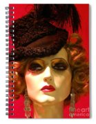 Classy Dame Spiral Notebook