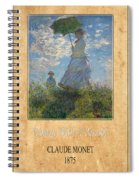 Claude Monet 1 Spiral Notebook